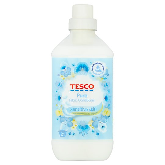 Tesco Fabric Conditioner Pure 630Ml 21Washes