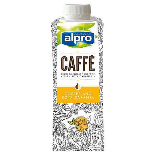 Alpro Caffe Coffee And Soya Caramel Drink 250Ml
