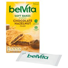 image 2 of Belvita Soft Filled Chocolate Biscuits 250G
