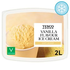 Tesco Soft Scoop Vanilla 2 Litres