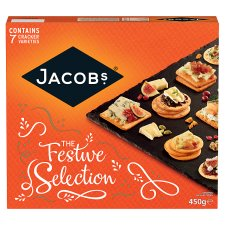 Jacobs Biscuits For Cheese 450G
