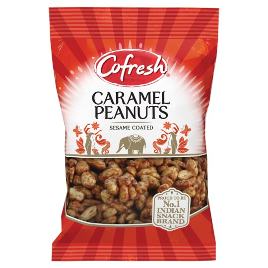 Cofresh Sesame Coated Caramel Peanuts 150G