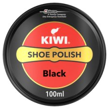 Kiwi Black Leather Shoe Polish 100Ml