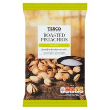 Tesco Roasted And Salted Pistachios 150G