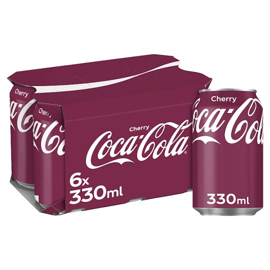 image 1 of Cherry Coke 6X330ml