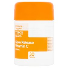 Tesco Slow Release Vitamin C X 30