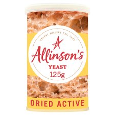 Allinson Dried Active Baking Yeast 125G