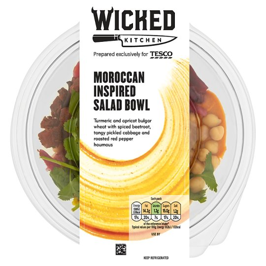 Wicked Kitchen Moroccan-Inspired Bowl 270G