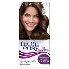 Nice'n Easy No Ammonia Light Ash Brown 75 Hair Dye