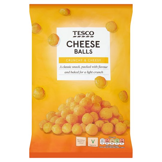 Tesco Cheese Balls Snacks 150 G