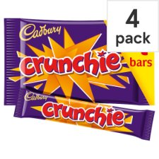 image 1 of Cadbury Crunchie Chocolate Multipack 4 X32g