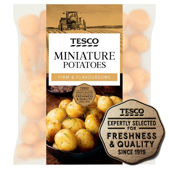image 1 of Tesco Miniature Potatoes 750G