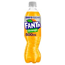 image 1 of Fanta Orange Zero 500 Ml