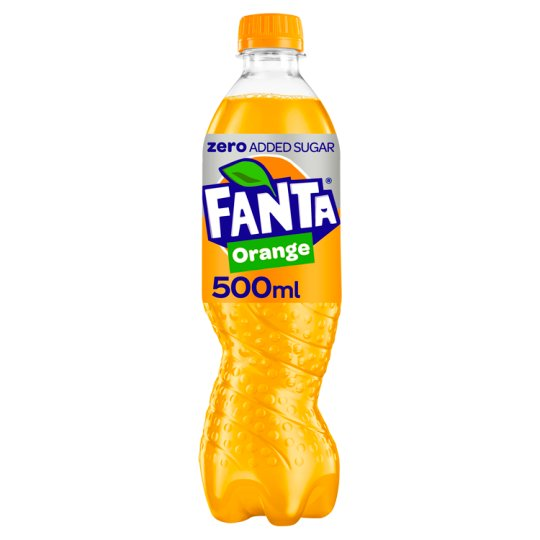 Fanta Orange Zero 500 Ml
