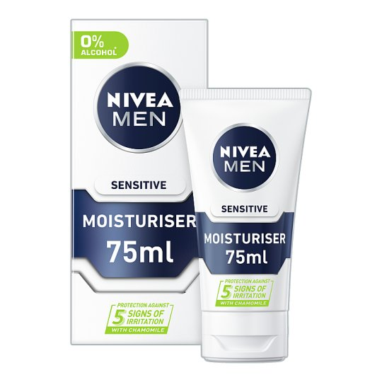 image 1 of Nivea Men Sensitive Moisturiser 75Ml