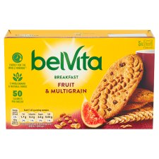 Belvita Fruit And Multigrain Biscuits 225G