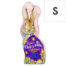 Cadbury Dairy Milk Chocolate Easter Popping Candy Bunny 50G