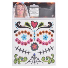 Day Of The Dead Face Stickers