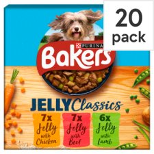 Bakers Home Classics Mixed In Jelly 2Kg 20 Pack
