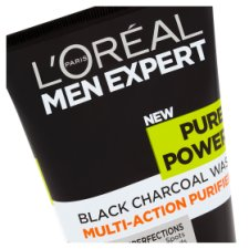 image 2 of L'Oreal Men Expert Pure Power Face Wash 150Ml