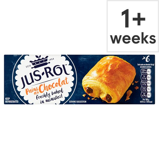 Jus-Rol Bake It Fresh Pain Au Chocolate 275G