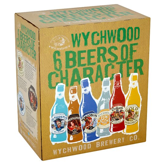 Wychwood Beers Of Character 6X500ml