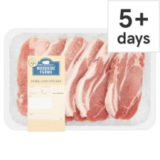 Woodside Farms Pork Loin Steaks 720G