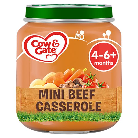 image 1 of Cow And Gate Mini Beef Casserole Jar 125G 4 Mth+