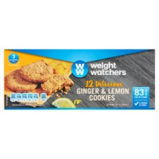 Weight Watchers Ginger And Lemon Cookies 6X19g