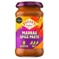 Pataks Medium Hot Madras Paste 283G