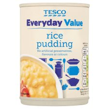 Tesco Everyday Value Rice Pudding 400G