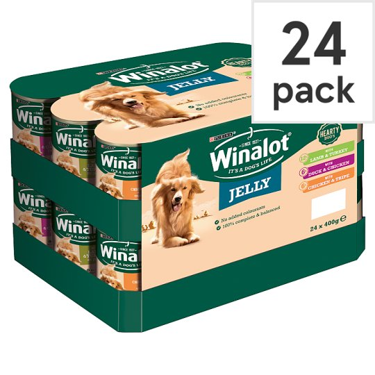 image 1 of Winalot Dog Food Heartyduo Mixed In Jelly 24X400g