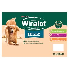 image 2 of Winalot Dog Food Heartyduo Mixed In Jelly 24X400g