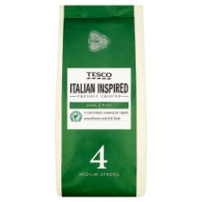 Tesco Italian Blend Ground Coffee 227G