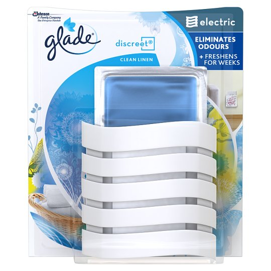 Glade Discreet Electric Holder Clean Linen