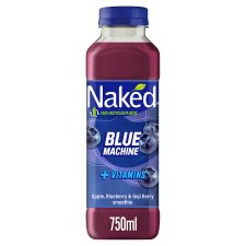 Naked Blue Machine Blueberry Smoothie 750 Ml