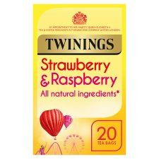 Twinings Strawberry And Raspberry 20 Tea Bags 40G