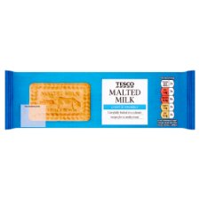 Tesco Malted Milk Biscuits 200G