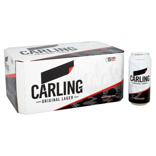 Carling Lager 15X440ml