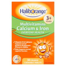 Haliborange Multi Vitamins Calcium And Iron Chews 30S