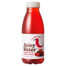 Juicy Water Raspberry And Blackcurrant 420Ml