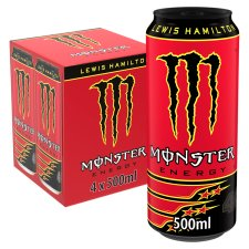 Monster Lewis Hamilton Energy Drink 4X500ml