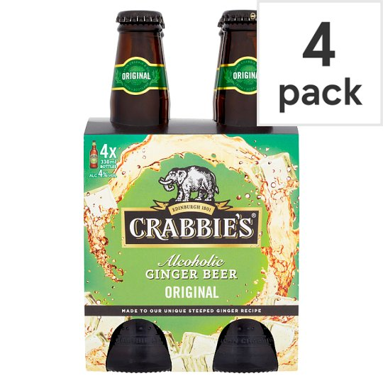 Crabbies Alcoholic Ginger Beer 4X330ml