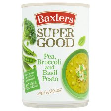 Baxters Pea Broccoli And Basil Pesto Soup 400G