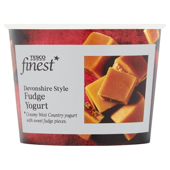 Tesco Finest Fudge Yogurt 150G