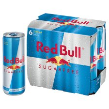 Red Bull Sugar Free 6 X 250Ml