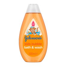 Johnson's Kids Bubble Bath & Wash 500Ml