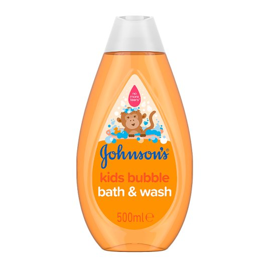 Johnson's Kids Bubble Bath And Wash 500Ml