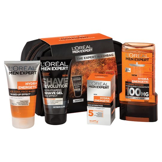 loreal men expert washbag gift set groceries tesco groceries. Black Bedroom Furniture Sets. Home Design Ideas