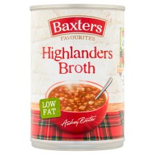 Baxters Favourites Highlander Broth Soup 400G